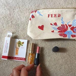 Clarins lip oil, bite beauty multi stick